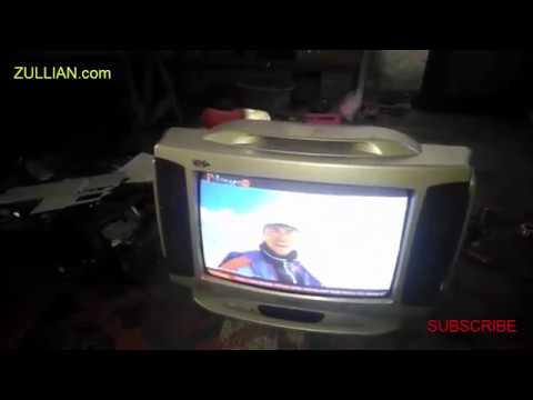 memperbaiki tv polytron/digitec mati standby lampu indikator berkedip