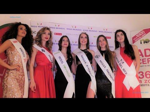 Miss Mondo Italia 2018 Sfilata in Bikini, Abito e Premiazioni 1^ tappa