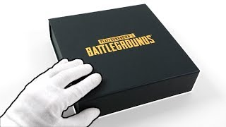 PUBG PS4 Press Kit Edition Unboxing + PlayerUnknown's Battlegrounds Console Bundle