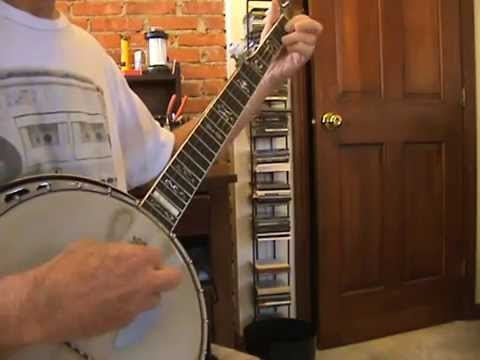 The Water Is Wide 5 String Banjo Youtube