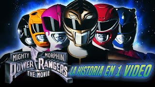 Power Rangers La Película:  La Historia en 1 Video I Ft The Covers Duo