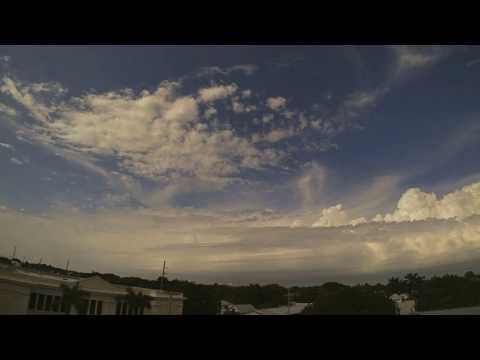 Pre-Frontal Squall Line Passes Through Key West - 01/07/17