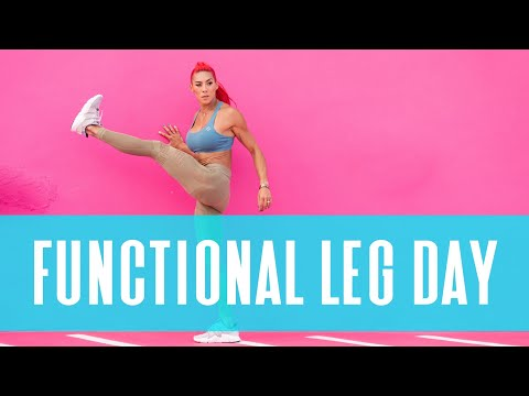 FULL WORKOUT | Functional Leg Day HEF Training App