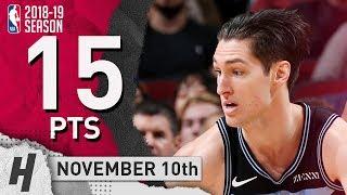Ryan Arcidiacono Full Highlights Bulls vs Cavaliers 2018.11.10 - 15 Pts, 2 Ast, 4 Rebounds!