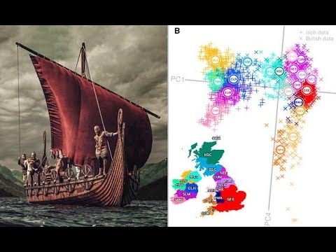 DNA Map Of Of Britain And Ireland Reveals Viking Genes