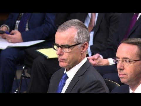 Exsubdirector del FBI McCabe, despedido días antes de jubilarse