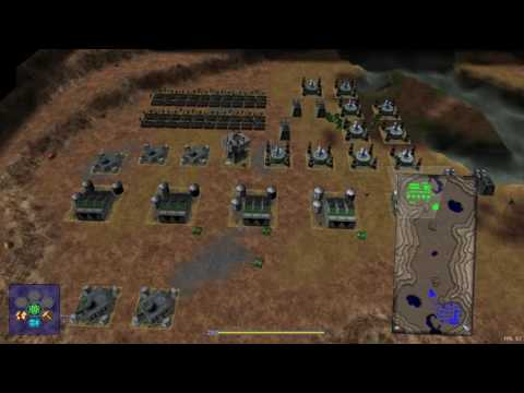 Denisius vs AlexBob21 semifinals tournament wz-con High-Oil map on Warzone 2100