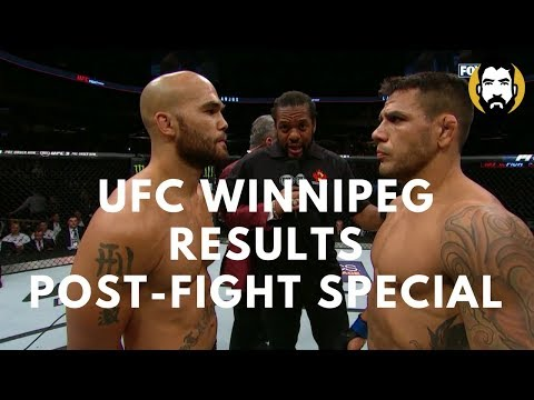 UFC Winnipeg Results: Robbie Lawler vs. Rafael Dos Anjos | Post-Fight Special | Luke Thomas