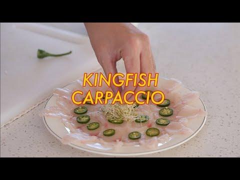 Meal Friends Kitchen #001 - Kingfish Carpaccio Recipe