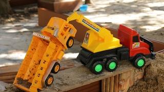 รถของเล่นมหาสนุก ตอน อุบัติเหตุรถตกสะพาน รถบรรทุก รถกู้ภัย รถแทรกเตอร์ วีดีโอสำหรับเด็ก