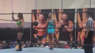FCW WWE NXT Audrey Marie vs. Emma vs. Paige