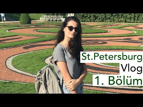 St.Petersburg #1 (Tsarskoye Selo, Peterhof) - Rusya | St. Petersburg Diaries | VLOG