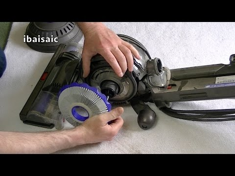 Dyson DC40 Upright Vacuum Cleaner Maintenance Tips
