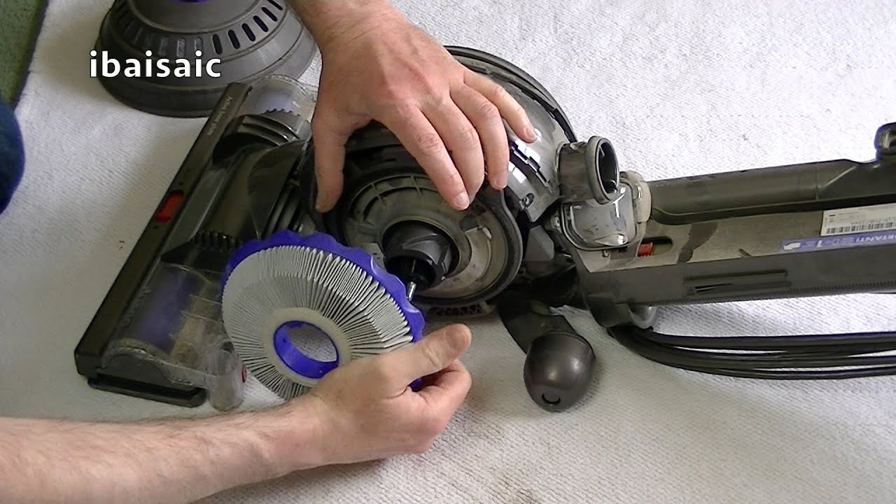 Dyson DC40 Upright Vacuum Cleaner Maintenance Tips  YouTube