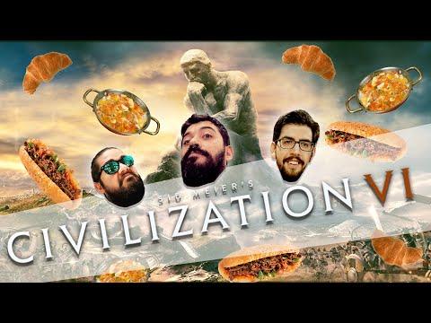 TANTUNİ ve MENEMEN KURUVASANA KARŞI | Civilization VI w/ CanSungur, Quanaril