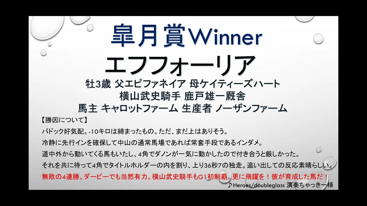 【回顧】2021皐月賞!横山武史騎手&エフフォーリアが圧倒のG1初制覇達成!ダノンザキッドの敗因は?