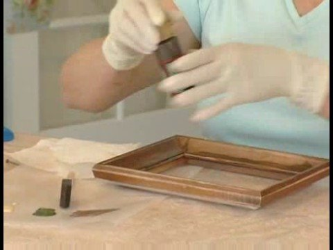 Making Picture Frames Look Old Painting The Base Coat For Aging A