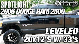 Spotlight - 2006 Dodge Ram 2500, Leveled, 20x12 -44's, and 33s