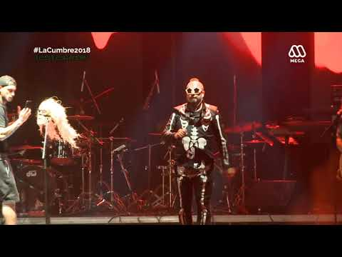 Chancho En Piedra - Cumbre del Rock Chileno 2018 HD