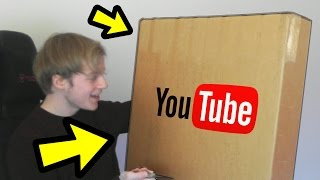 YOUTUBE SENT ME A PACKAGE!!