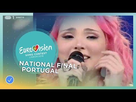 Cláudia Pascoal - O Jardim - Portugal - National Final Performance - Eurovision 2018