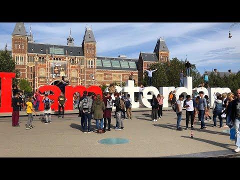 Amsterdam Walking Tour, From Museumplein To Rembrandtplein