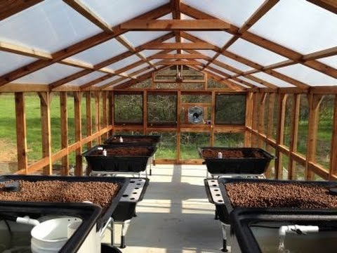 Aquaponics Greenhouse Kit by Endless Food Systems