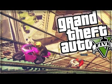 Gta 5 Funny Moments Football In Gta 5 Moto Skill Testing