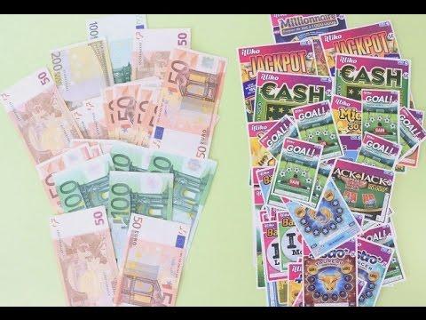 Combien peut-on gagner si l'on achète 100 euros de jeux de grattage? [EXPERIENCE]