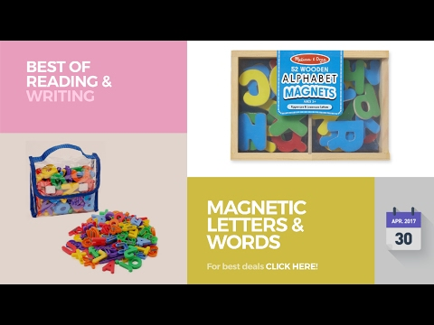 Magnetic Letters & Words Best Of Reading & Writing