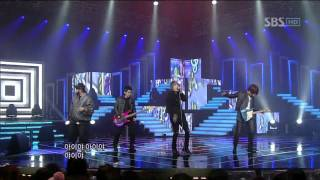OP.ONE - UP DOWN (오피원 - 업 다운) @ SBS Inkigayo 인기가요 101121