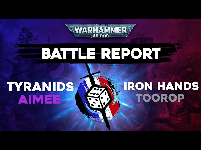 RAPPORT DE BATAILLE WARHAMMER 40.000- Tyranides VS Space marines