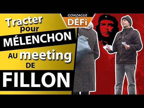DEFI: tracter pour Melenchon au meeting de Fillon