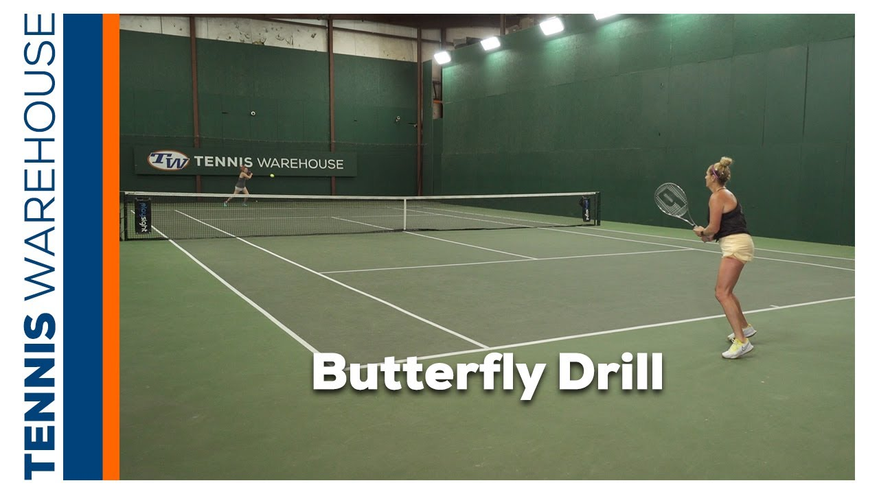 Improve your Tennis with our Weekly Drill: Butterfly Drill 🎾 🦋