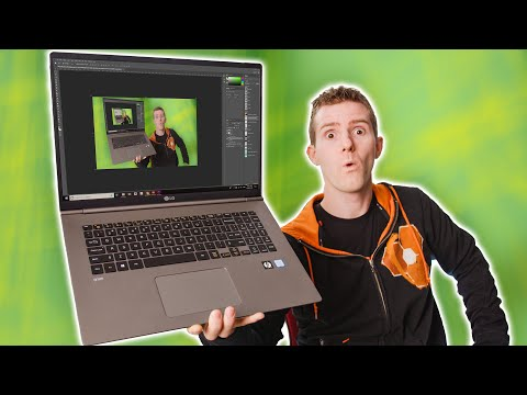 The Craziest 17 inch Laptop!