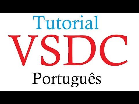 VSDC Free Video Editor - Tutorial Português