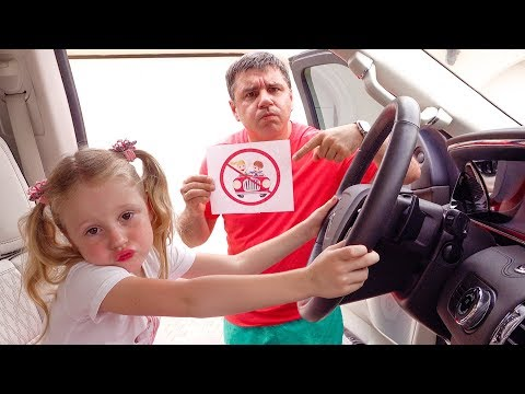 Nastya and the rules of conduct for kids