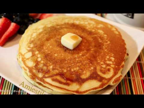 PANCAKES ESPONJOSOS hot cake panqueques
