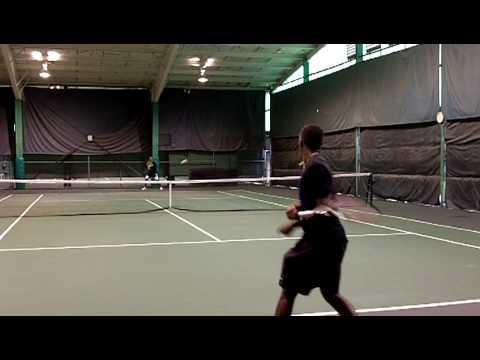 Takanyi Garanganga and Blake Strode training in Dallas