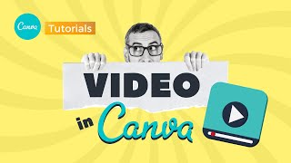 How to work with video in Canva | Learn with Ronny