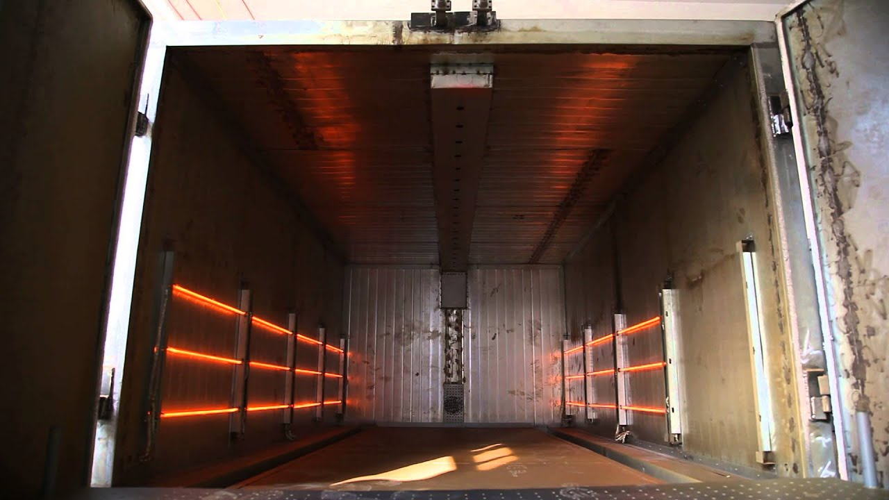 Infrared Powder Coating Oven Gas Fired Infrared Industrial