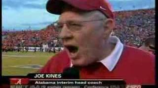 Joe Kine's Indy Bowl Halftime Interview