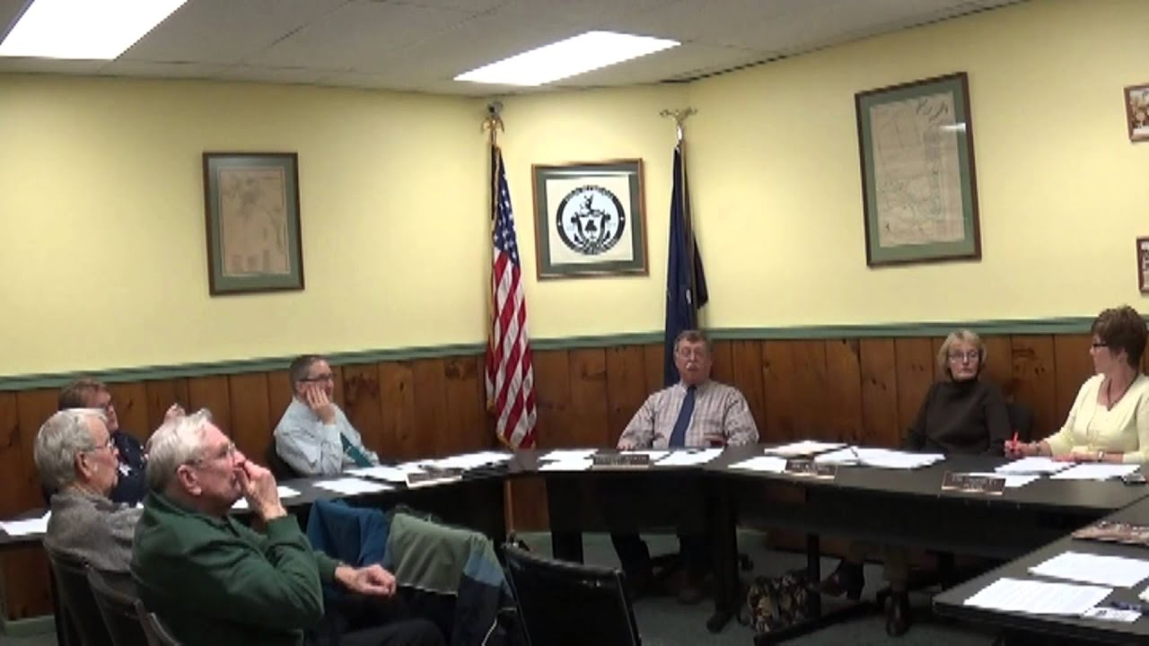 Champlain Village Board Meeting  12-14-15