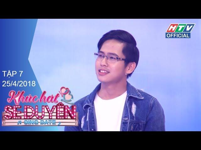 HTV KHÚC HÁT SE DUYÊN   'Người cũ' Karik - Đàm Phương Linh đi tìm 1 nửa   KHSD #7 FULL  25/4/2018