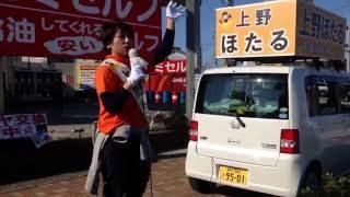 上野ほたる(無所属市民派) 32歳、2児のママ http://uenohotaru.jimdo...