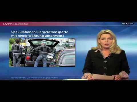"""Zusammenbruch der Eurozone - Mögliche neue deutsche Währung  """"Neue Deutsche Mark"""""""
