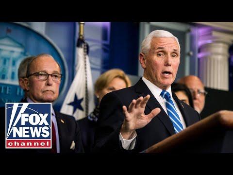 Pence holds Coronavirus Task Force briefing