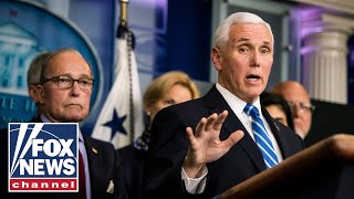 Pence holds Coronavirus Task Force briefing