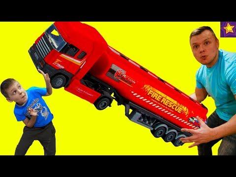 На СПОР ЗА МАШИНКИ !!! Игорюша придумал Челлендж розыгрыш машинок! Видео для детей