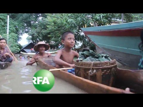 Myanmar Faces Flooding Emergency